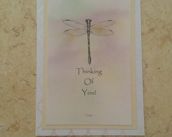 Thinking of you, dragonfly.