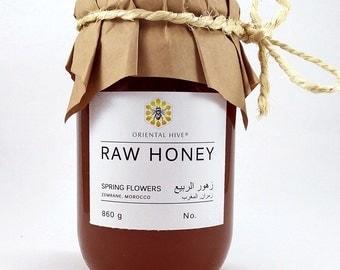 Spring Flowers RAW Honey from Zemrane, Marrakech, Morocco