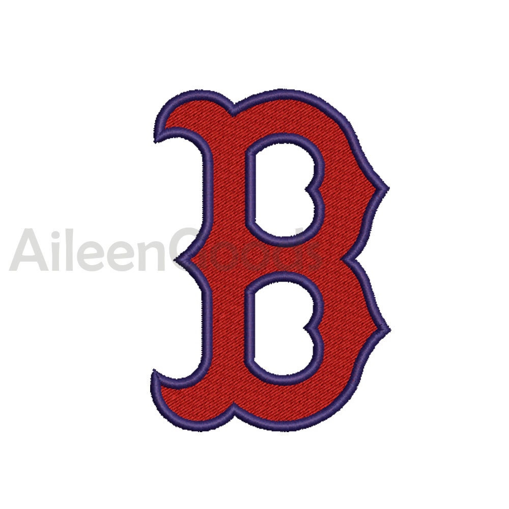Red Sox Logo Embroidery Design