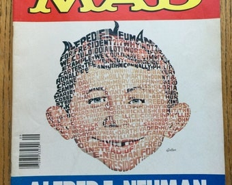 Mad Magazine Vote Alfred E Neuman for President This Issue Sept 1980 No. 217 Issue