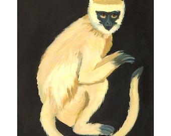 A Monkey Print 8x10