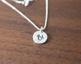Ophiuchus Necklace Zodiac Necklace - Gift for her Decemver Birthday Gift Sterling Silver Ophiuchus Pendant Small Ophiuchus Simple Ophiuchus