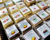 9 Mini Soaps for 12 Dollars for Party, Shower & Wedding Favors, Gift Toppers