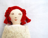 Vintage Red Doll