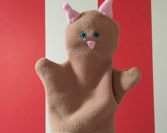 how to make a hand and rod puppet