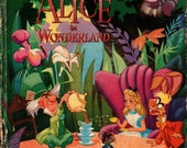 Walt Disney's Alice in Wonderland - Samuel Armstrong - The Walt Disney Studio - 1951 - Vintage Kids Book