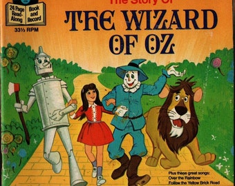 The Story of the Wizard of Oz - 1978 - Vintage Kids Book