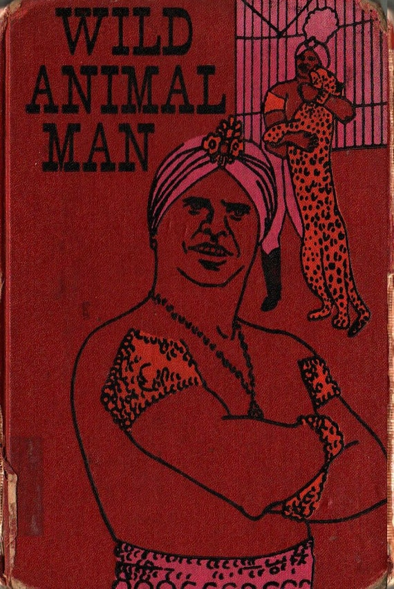 Wild Animal Man - Damoo Dhotre and Richard Taplinger - 1961 - Vintage Book