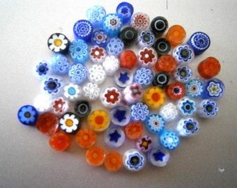 104COE Millefiore Fusing Glass, Glass for Fusing, 104 COE, Willow Glass