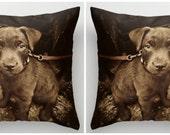Custom Photo Pillow Covers, Set of 2, Photo Gift, Pet Pillows