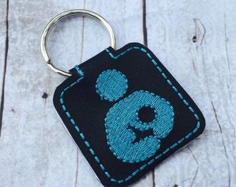 Crunchy Mama Key Ring - breastfeeding key fob - nursing keyring - breastfeeding awareness - gifts for new moms - keyrings by babymoon