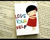 Love yourself custom listing