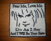 Labyrinth Bowie Movie Inspired Jareth or Firey Gang Patch