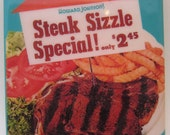 Steak Sizzle Special Tile Coaster