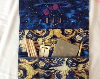 Interchangeable Knitting Needle Case - Doctor Who - Exploding Tardis
