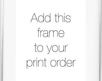 8x10 Silver Frame / 11x14 Silver Frame / Thin Silver Frame / 5x7 Silver Frame