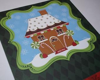 Christmas Card, Christmas Greeting Card, Handmade Christmas Card, Greeting Cards, Christmas Greeting, Handmade Christmas Paper Goods