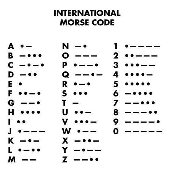 an overview of the morse code Morse code is a method of transmitting text information as a series of on-off tones, lights, or clicks that can be directly understood by a skilled listener or observer without special equipment the international morse code [1] encodes the iso basic latin alphabet, some extra latin letters, the.