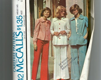 McCall's Misses'  Unlined Jacket and Pants Pattern 4442
