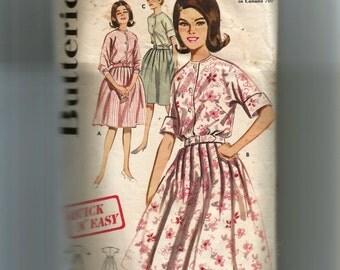 Butterick Misses' Full Skirted ShirtDress Pattern 2695