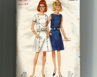 Butterick Misses' One-Piece Dress Pattern 4403