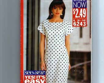 Butterick Misses' Dress Pattern  6243