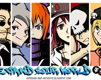 Expand Your World! TWEWY 11x17 (Tabloid) print