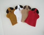 Dog Hand Puppet Party Favor for Kids