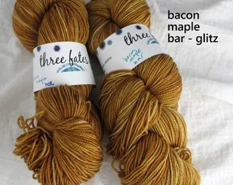 bacon maple bar - glitz