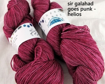 sir galahad goes punk - helios fingering weight