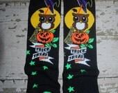 owl leg warmers, baby leg warmers, halloween, pumpkin, girl leggings, boy legwarmers, trick or treat, knee pads, toddler tights, costume