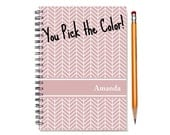 18 month custom planner, Start any month, 2016 personalized weekly planner, 2016-2017 18 month customizable planner, SKU: ep chevron