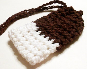 Cotton Crochet Soap Saver, Brown Soap Saver, White Soap Saver, Soap Saver Bag, Soap Saver Sack, Reusable, Ecofriendly On Etsy