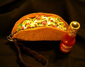 Realistic Handmade Taco Purse