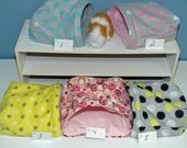 Guinea Pig Snuggle hut, multi sizes 10x10, 12x12, or 14x14  pouch FREEstanding opening snuggle bag, guinea pig house guinea pig cavey