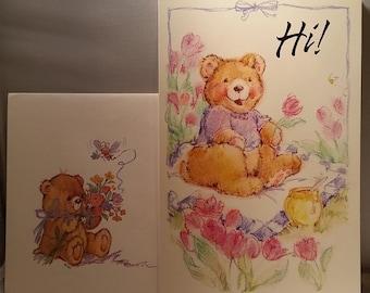 Cute Bear Greeting Card