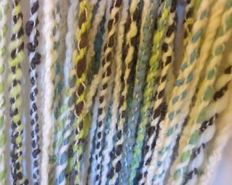 Handspun Merino Alpaca Yarn  (Sure Answers) 176 yds 161 meters