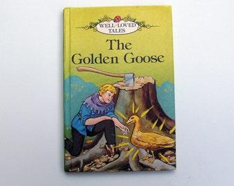 Vintage Ladybird Book - The Golden Goose - excellent vintage condition- children's story Book