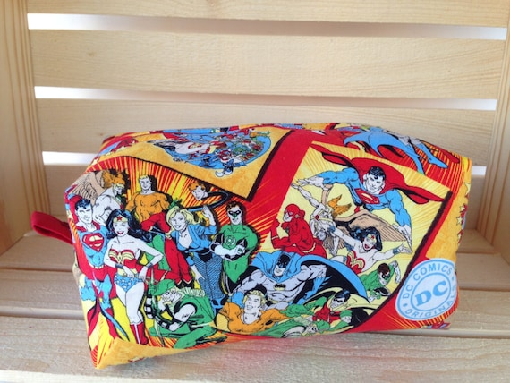 Knitting Project Bags For Sale : Comic knitting project bag boxy