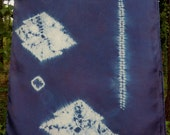 Indigo Good Fortune Pine Scarf