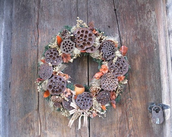 SIENNA WREATH  for autumn and year round