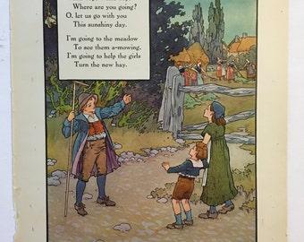 Willie Boy, Willie Boy....from 1921 Mother Goose Book