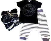 SALE Organic 6-12m Constellation Baby Bundle