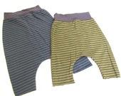 Organic Kids Stripe Harem Pant