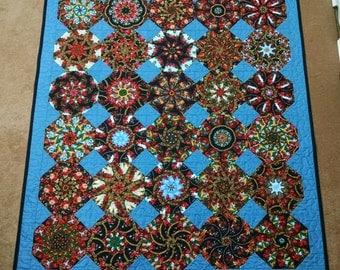 Old World Kaleidoscope Quilt