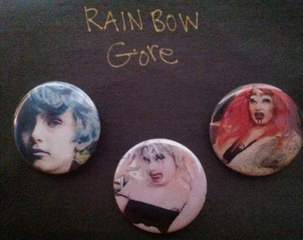 RainBowGore Cake buttons