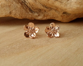 Buttercup Studs-Rose Gold