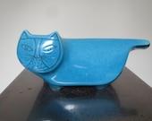 Blue Baldelli Italy Cat Bank