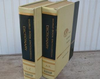 The World Book Encyclopedia Dictionary Book Set - Royal Hill Vintage