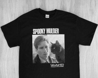 Spooky Mulder : Unwanted - Files / Jawbreaker Tee Shirt